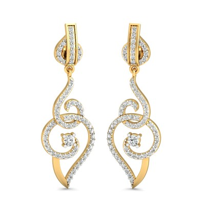 Brianna Diamond Earring