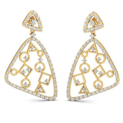 Wallis Diamond Earring