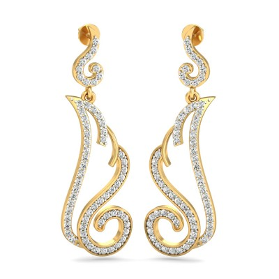 Athena Diamond Earring