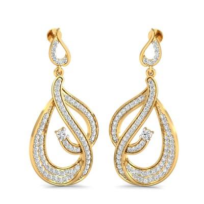 Udia Diamond Earring