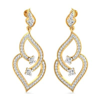 Nicole Diamond Earring