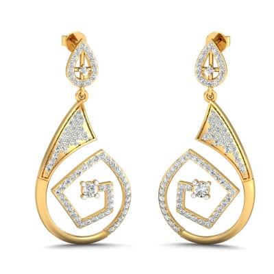 Narcissa Diamond Earring