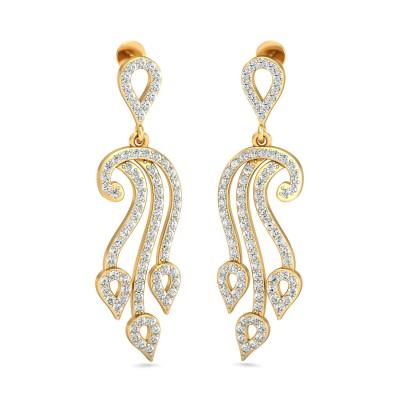 Edith Diamond Earring