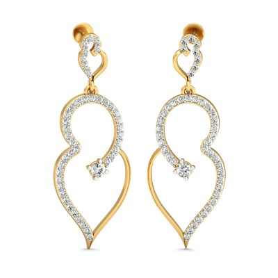 Wiebke Diamond Earring
