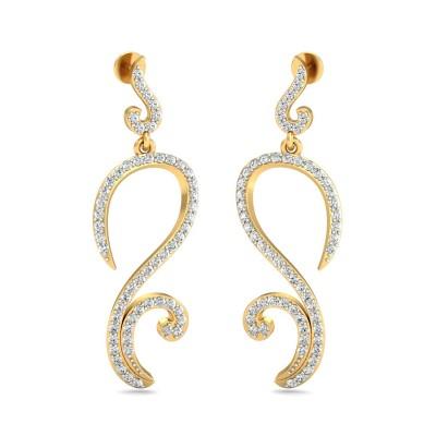Reley  Diamond Earring
