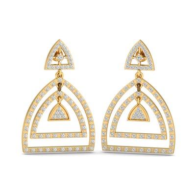 Peyton Diamond Earring