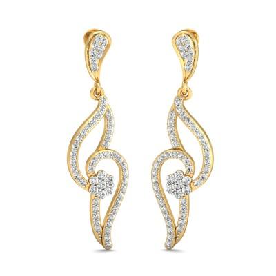 Mackenzie Diamond Earring