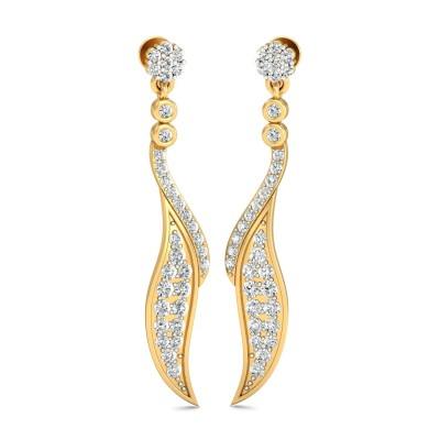 Whoopi Diamond Earring