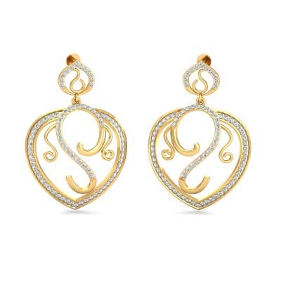 Jabari Diamond Earring