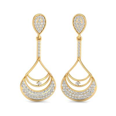 Aboriginal  Diamond Earring