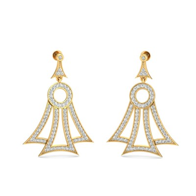 Armenian  Diamond Earring