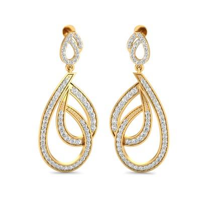 Welsh Diamond Earring