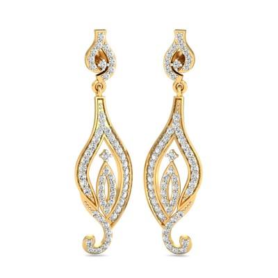 Slavic Diamond Earring