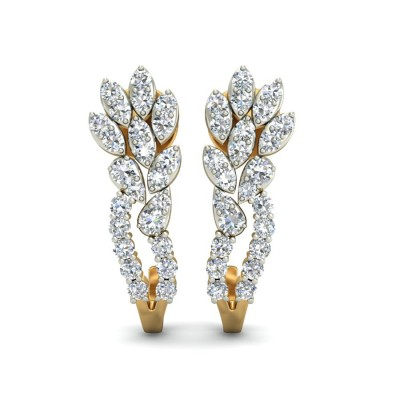 Multishape Diamond Bali Earring