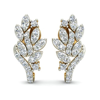 Curved Marquise Earring