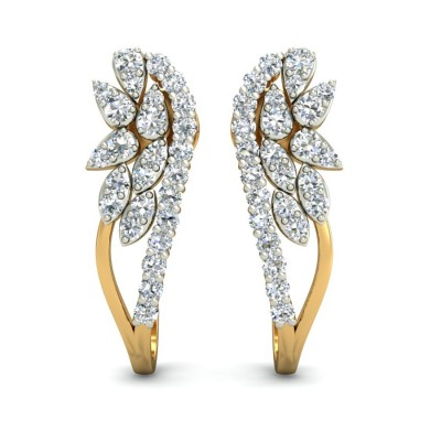 Diamond Line Bali Earring