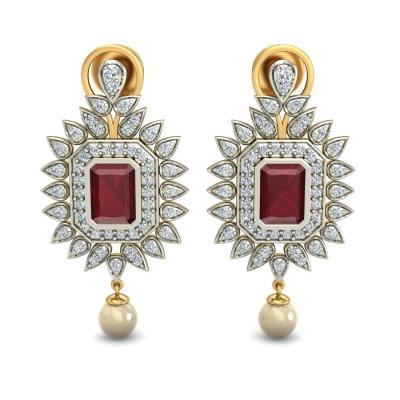 Diamond Earring Rays