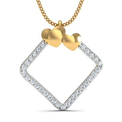 Chanak Diamond Pendant