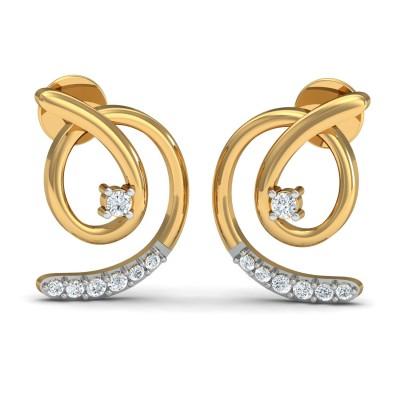 Surya Diamond Earring