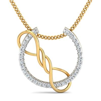 Angel Diamond Pendant