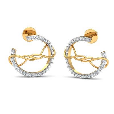 Angel Diamond Earring