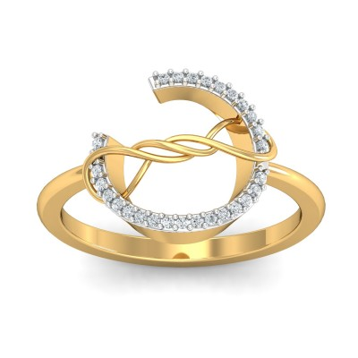 Angel Diamond Ring