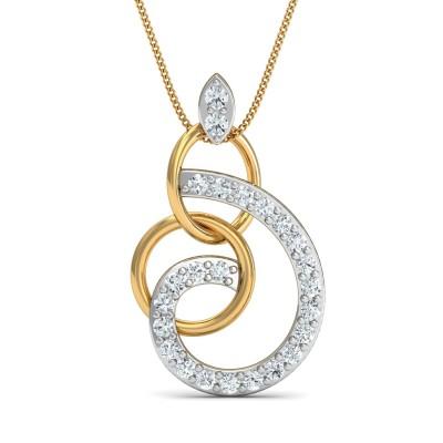 Oreo Diamond Pendant