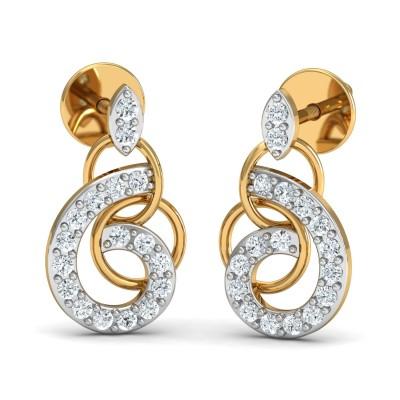 Oreo Diamond Earring