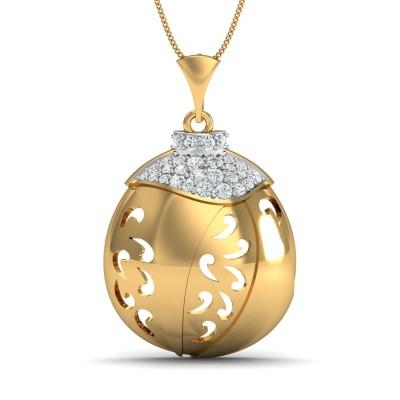 Crystal Diamond Pendant