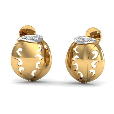 Crystal Diamond Earring