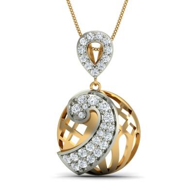 Blinking Diamond Pendant