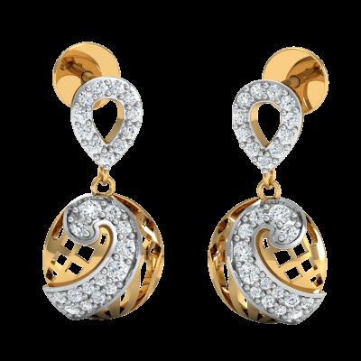Blinking Diamond Earring