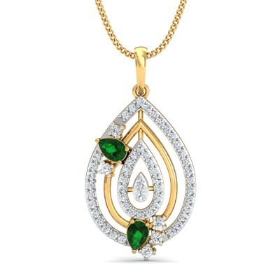 Carlotta Diamond Pendant