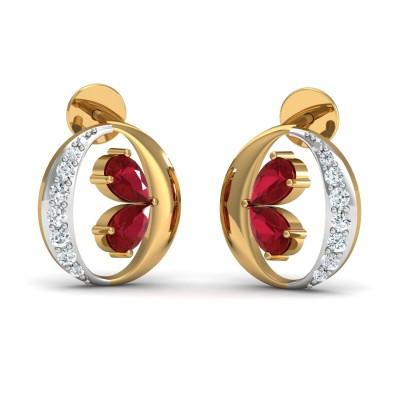 Elena Diamond Earring