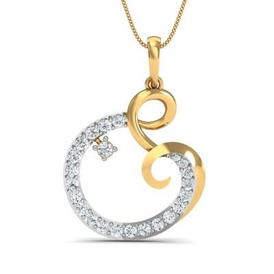 Zeba Diamond Pendant