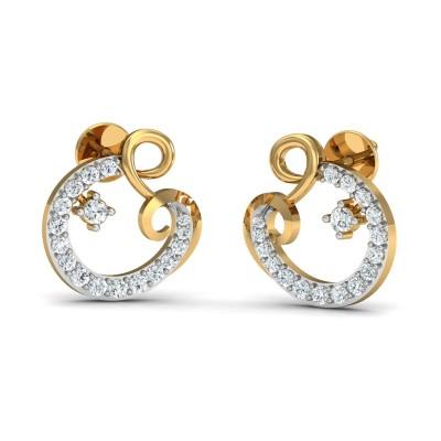 Zeba Diamond Earring