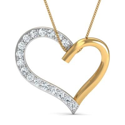 Tic-Tok Diamond Pendant