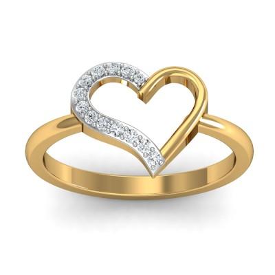 Tic-Tok Diamond Ring