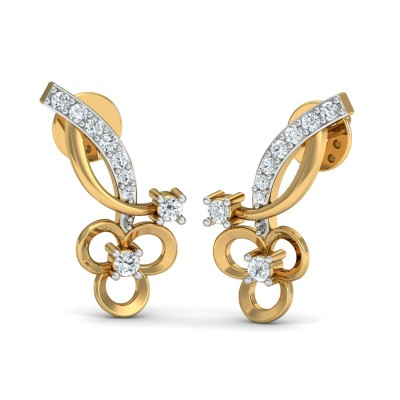 Vella Diamond Earring