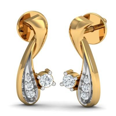 Hilton Diamond Earring