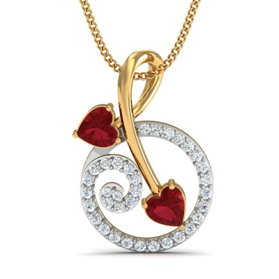 Basilio Diamond Pendant