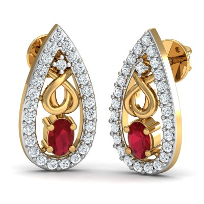 Leonora Diamond Earring