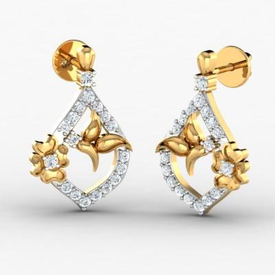 Belly Diamond Earring