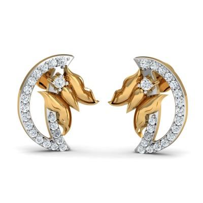 Hazel Diamond Earring