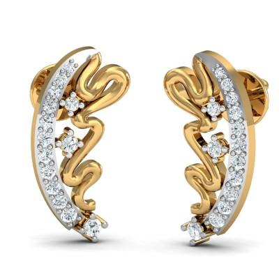 Twilight Diamond Earring