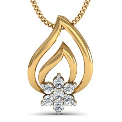 Delicate Diamond Pendant