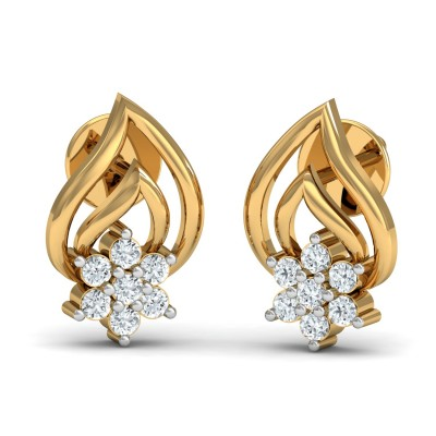 Delicate Diamond Earring