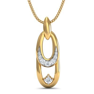 Foxy Diamond Pendant