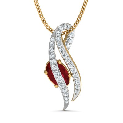 Aurora Diamond Pendant