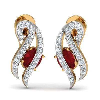 Aurora Diamond Earring